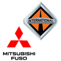 international trucks mitsubishi fuso truck logos
